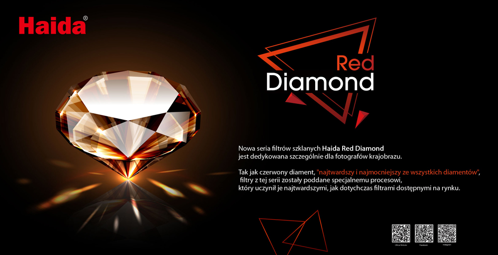 Haida red diamond