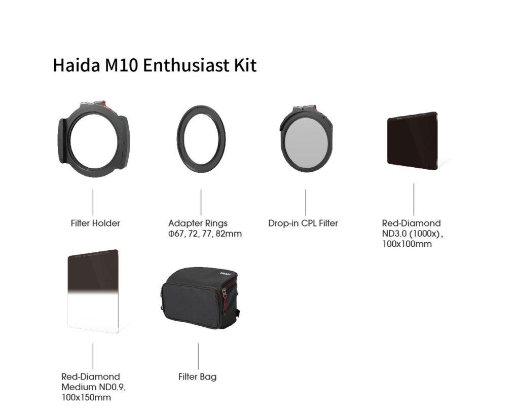 zestaw filtrów haida m10
