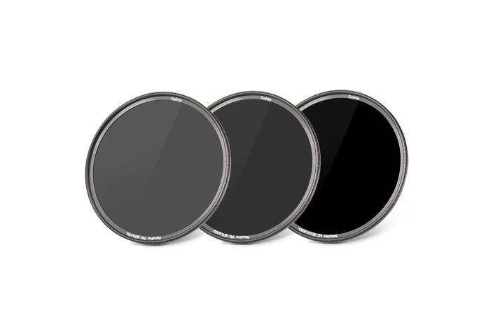 zestaw 3 filtrów szarych haida nano pro