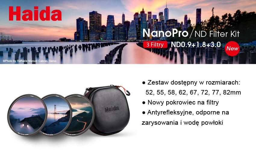 banner z filtrami i pokrowcem haida nano pro