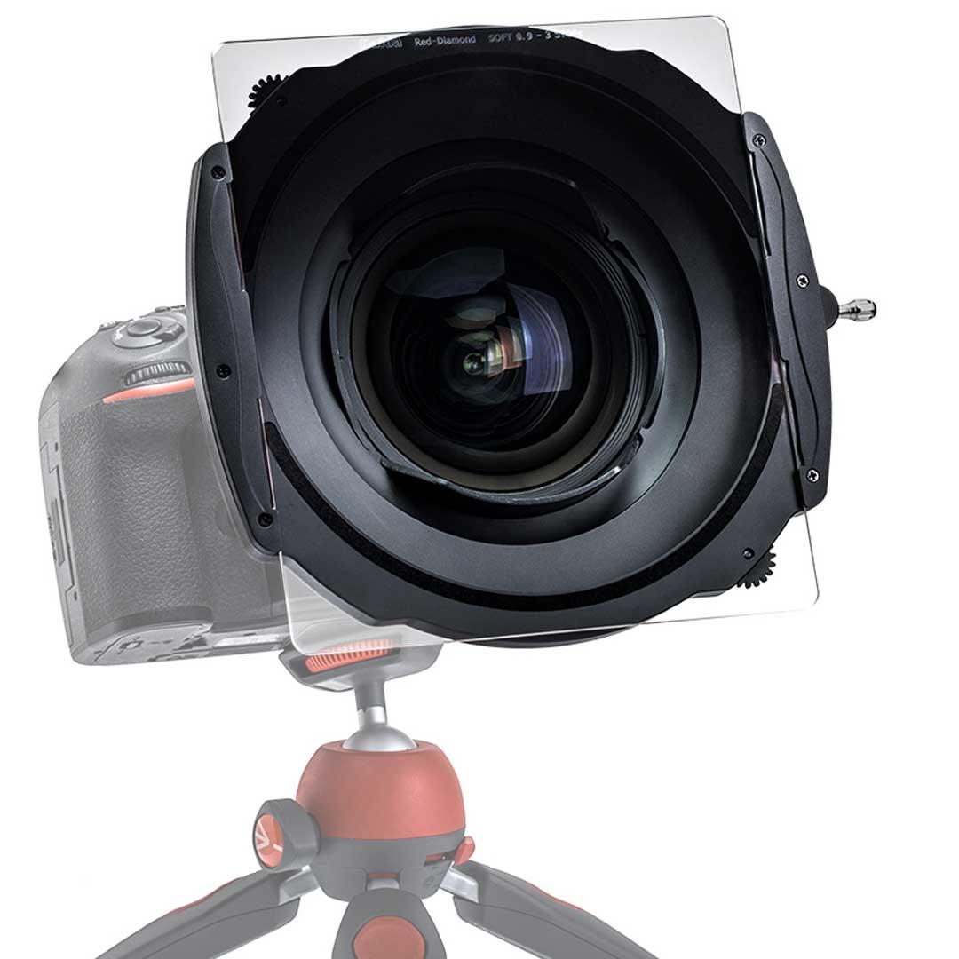 Haida m15 holder on camera