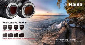 Haida rear lens filters